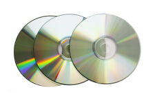 10 Pieces Shiny Silver Top 52X 80min 700MB CD-R Blank Disc in Paper Sleeves