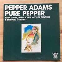 "Pepper Adams ""Pure Pepper"" Elvin Jones etc - Savoy SJL 1142 US Jazz LP"