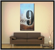 ABSTRACT MODERN PAINTING HUGE CANVAS WALL ART Framed Large US ELOISExxx
