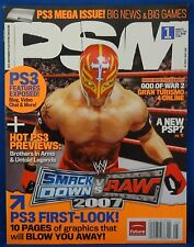 PSM Playstation Magazine May 2006 Issue 110 Smack Down Vs Raw 2007 Free Shipping