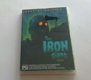 The iron giant special edition  dvd clean disk Australian release