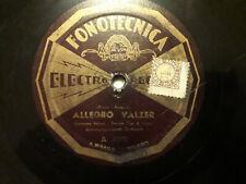 """78 giri""""ENZO FUSCO """" PAESANELLA - ALLEGRO VALZER"""" FONOTECNICA ELCTRO RECORDS"""