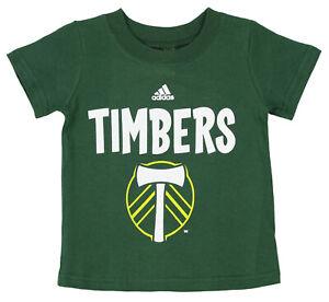Adidas MLS Toddlers Portland Timbers Whirlwind Tee Shirt, Green