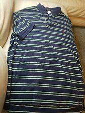 Men's POLO RALPH LAUREN Blue RED POLO Shirt XLT X-Large Tall 2-10