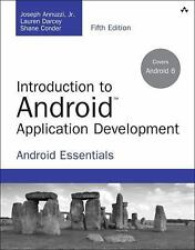 Introduction to Android Application Development 5th Int'l Edition
