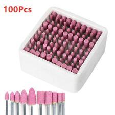100Pcs/Box Assorted Polishing Grinding Stone Rotary Tools Abrasive Mounted Stone