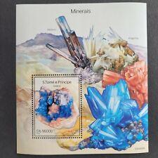 SoaTome&Principe 2014 /Minerals - Galena / 1v minisheet mnh