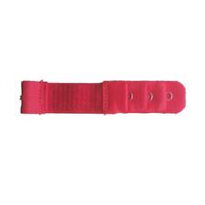 Accessoire lingerie 1 rallonge rouge extension soutien gorge 1 crochet - 8/10cm