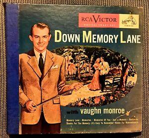 VAUGHAN MONROE - Down Memory Lane - 1948 RCA Victor 4-record Set P-202