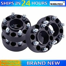 4 Pcs 6x135 Black fit 2015-2017 Ford F150 Hub Centirc 2 inch Wheel Spacers