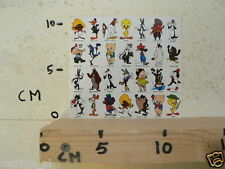 STICKER,DECAL DISNEY FIGURES SHEET 28 STICKERS TWEETY,ROAD RUNNER,SPEEDY GONZALE