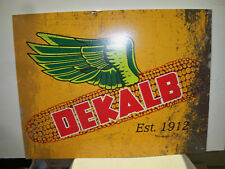 Dekalb Advertising Metal Sign