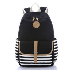 Women Backpack Canvas School Bag for Teenage Girls Korean Students Back Pack