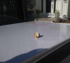 10K YELLOW GOLD TIE TACK  WITH 6 DIAMONDS