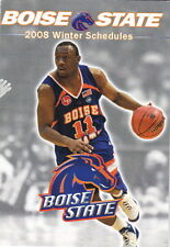 2008 BOISE STATE UNIVERSITY BASKETBALL POCKET SCHEDULE WITH OTHER WINTER SPORTS