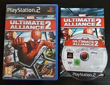 Marvel Ultimate Alliance 2-PlayStation 2-PAL-Gratis, Rápido P&P!
