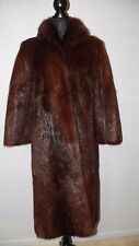 Nutria (LIKE BEAVER) Fur Coat A. C. BANG Sz S-M