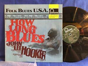 JOHN LEE HOOKER FOLK BLUES USA 688200 FONTANA ORIGINAL FRANCE LP NEAR MINT