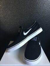 Nike SB Janoski Slip On Zoom Air Men's 6.5 Black Suede