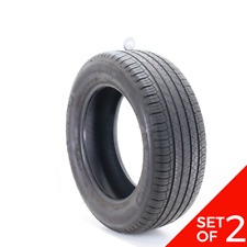 Set Of 2 Used 23560r18 Michelin Latitude Tour Hp Ao 103h 632 Fits 23560r18