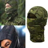 Tactical Bionic Camouflage Full Face Mask Scarf Balaclava Camo Hat Windproof