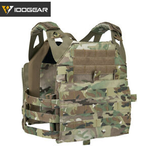 IDOGEAR JPC 2.0 Tactical Vest Airsoft Plate Carrier MOLLE Body Protect Military