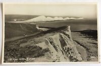 The Seven Sisters - Seaford - Sussex - Real Photo Postcard
