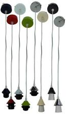 Metal Ceiling Light Pendant Suspension Rose and Lamp Holder E27 Various Colours