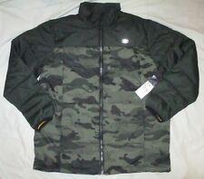 NWT BILLABONG Green Camo Insulated Lightweight PACKABLE Jacket Boy's XL