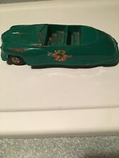 Vintage Marx Dick Tracy Police Dept. Convertible Friction Toy Car