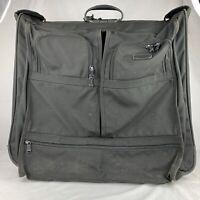 """TUMI 24"""" Large Wheeled Black Suitcase Garment Bag Luggage 2233D3 Ballistic Case"""
