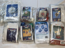 Lot Of 30 Herrschners Beaded Christmas Ornaments (8) Kits
