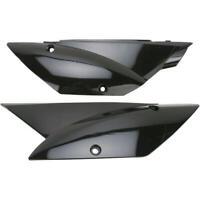UFO Side Panels Black Fits Kawasaki KLX110/KLX110L 2010-2019
