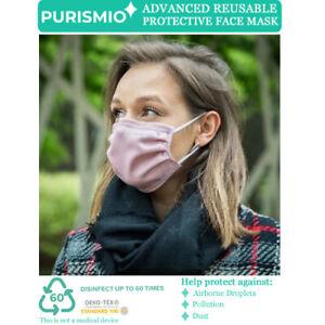 Purismio◊ Advanced Reusable Protective Fashion Face Mask - Pink