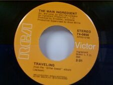 """MAIN INGREDIENT """"TRAVELING / YOU'VE GOT TO TAKE IT (IF YOU WANT IT"""" 45 NEAR MINT"""