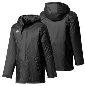 Adidas Boys Padded Winter Jacket 5-6 Years Waterproof Coat Windproof School New