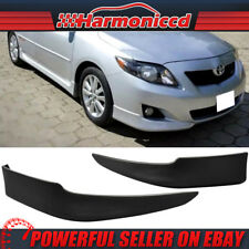 Fits 09 10 Toyota Corolla OE Style PP Polypropylene Front Bumper Lip Spoiler