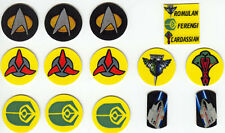 Star Trek The Next Generation Pinball Target Decal Set