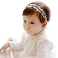 New Rhinestone Headband Hairband Baby Girls Flowers Headbands Hair Accessories