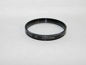Genuine Hoya Soft Diffuser 55mm Lens Filter Made in Japan Diffusion O41026