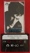 NEW ORDER LOVE VIGILANTES CASSETTE TAPE LOW LIFE RARE IMPORT CS LABEL