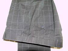 ARMANI COLLEZIONI ELEGANT GREY CHECK SUIT/WORK TROUSERS W36 L30