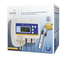 Bluelab pH Controller Connect - monitor automatic ph solution dosing lcd display