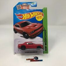 '15 Dodge Challenger SRT #235 * Red * 2015 Hot Wheels * WA12
