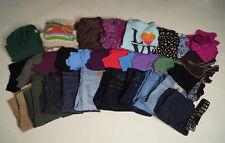 Mixed Lot of 34 items WOMEN'S CLOTHING shirts, sz 8 pants Size M L Calvin Klein