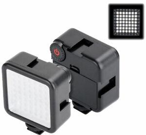 Portable 6000K LED Phone Video Light for Vlog Live Studio flash Lighting