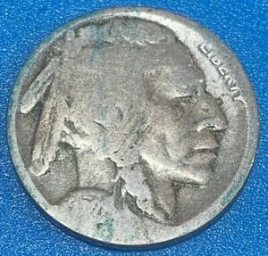 """1928 United States 5 Cents """"Buffalo Nickel"""" Coin"""