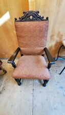 New listing King Henry Style Chair, Vintage/Antique