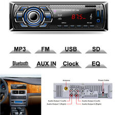 12V Car MP3 FM Radio Player Bluetooth 4 Loud Speaker USB SD with Remote Control