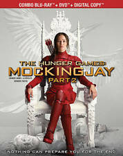 The Hunger Games: Mockingjay,Part 2 (Blu-ray/DVD/Digital,2016,Canadian,w/FRENCH)